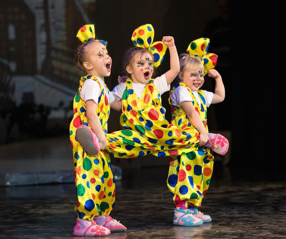 Детская цирковая студия в Ижевске